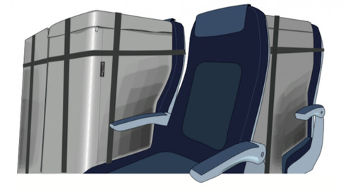Cargo seat bags ensure safe, efficient and easy transportation of air cargo on seats
