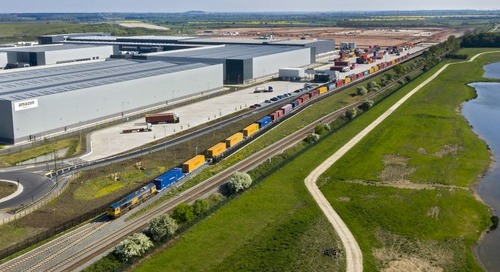 Doncaster's iPort goes full steam ahead with new rail freight links