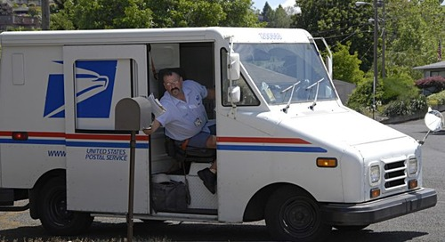 US to leave postal union next month