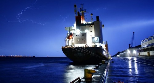 Why lightning strikes twice as much over shipping lanes
