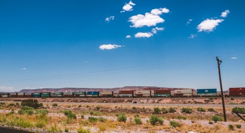 US roads and railways humming with more freight on the move at last
