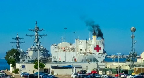 Driver intentionally derailed speeding train to destroy US hospital ship