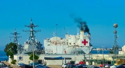 Driver intentionally derailed speeding train to destroy US hospital ship