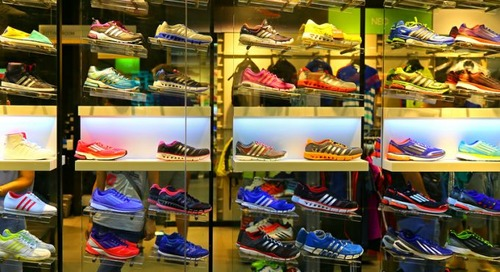 Adidas opts for air freight – 'a temporary setback' – to avoid supply chain shortfall
