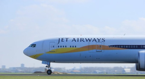 Rival carriers eye key routes as India's Jet Airways is declared bankrupt