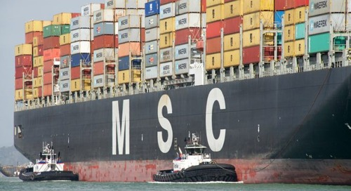 MSC links with logistics start-up MatchLog to drive efficiency