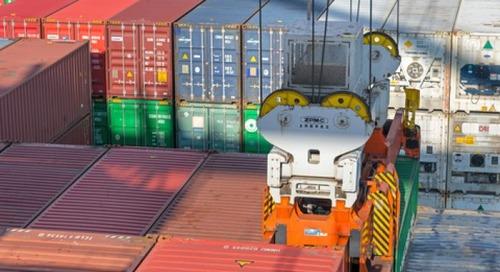 Australian dockers' union in quarantine dispute over Chinese box ship
