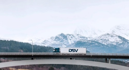 Demand picking up for DSV China-Europe road freight service
