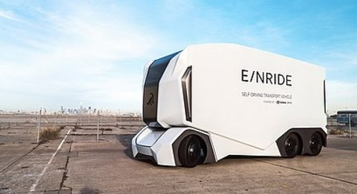 DB Schenker-Einride partnership to begin driverless electric truck trials