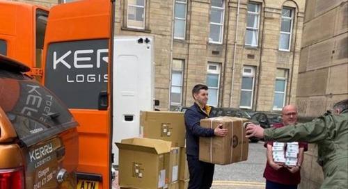 Hero of the Week: Kerry Logistics and Trtl sock it to footsore NHS nurses