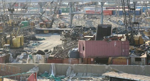 Rebuilding the port of Beirut: a competition for geopolitical influence