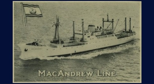 MacAndrews sinks after almost 250 years as it becomes part of Containerships