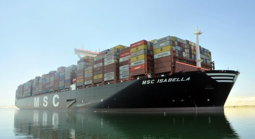 Maersk launches Egyptian feeder to help UK shippers while AE2 is suspended