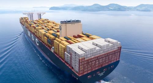 MSC joins Smart Maritime Network