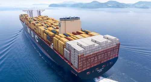 MSC unveils its newest boxship: greener, safer, more efficient and bigger