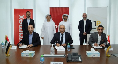 Aramex enters partnership with Transportr to manage Ittihad Group's sea volumes