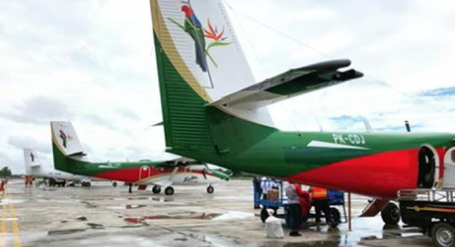 Cargo plane carrying four missing in eastern Indonesia