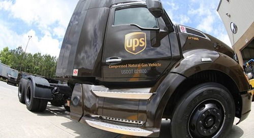 UPS makes $450m investment in gas-powered trucks
