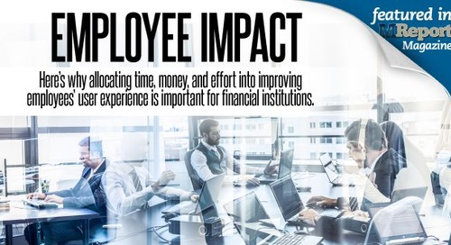 Improving the Employees' Experience at Financial Institutions