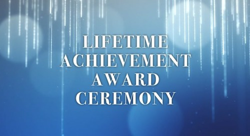 2020 Lifetime Achievement Recipient Announced