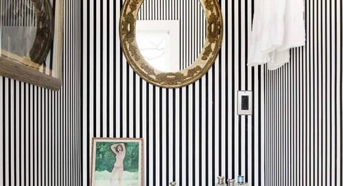 10 FABULOUS VARIATIONS ON A STRIPED ROOM