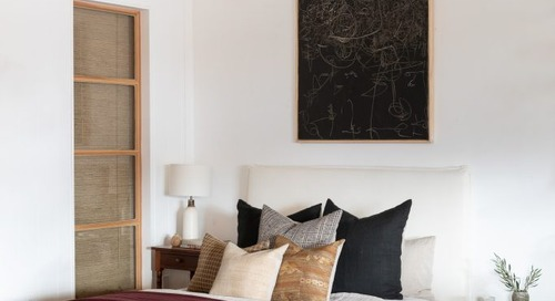 FIVE IDEAS FOR WHAT TO HANG ABOVE YOUR BED