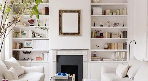 SWELL SHOPPING: LIVING ROOM WITH A LIGHT TOUCH