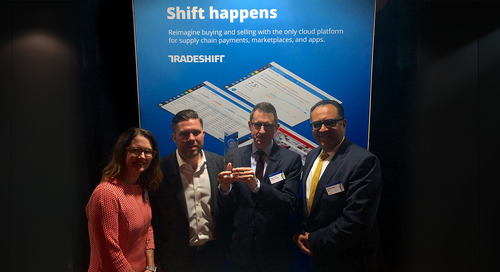Tradeshift and Kuehne + Nagel receive 2018 Supply Chain Finance Award