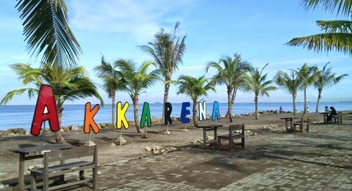 Pantai Akkarena: Primadona Senja dan Tempat Romantis di Makassar