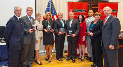 The Washington Center Hosts Institutional Awards Dinner to Honor Academic Partners