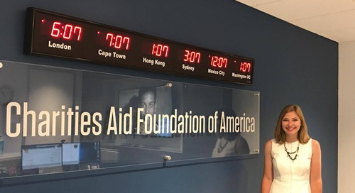 My Internship Experience with Charities Aid Foundation of America