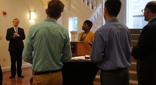 Adrienne Jones Talks Public Service—but Not Politics—to Maryland Interns