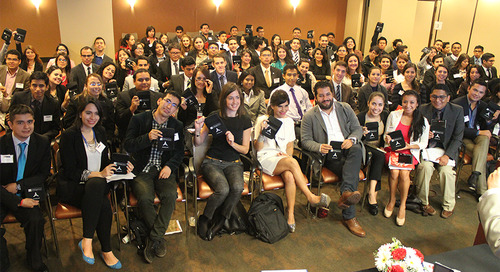 TWC Welcomes 100 Mexican Students from Public Universities
