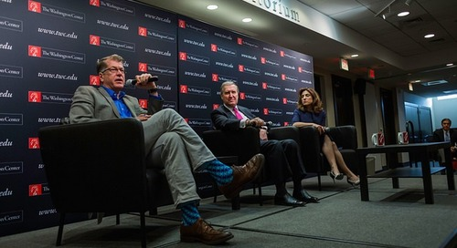 Foreign Policy Experts Urge Interns to Take an Active Interest in the World