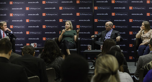 Three Journalists Help TWC's Interns Understand Today's Political Culture