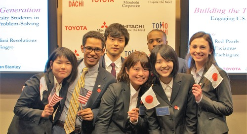 TOMODACHI Students Propose Solutions for Tōhoku Region