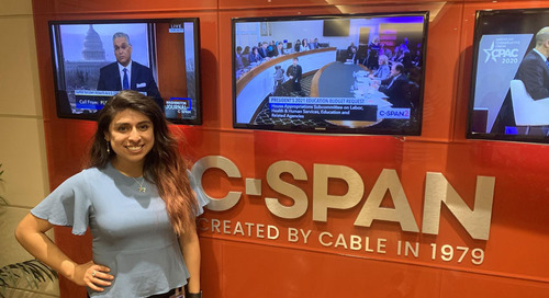 Claudette Enriquez: Discovering a Second Career Path in Journalism at C-SPAN