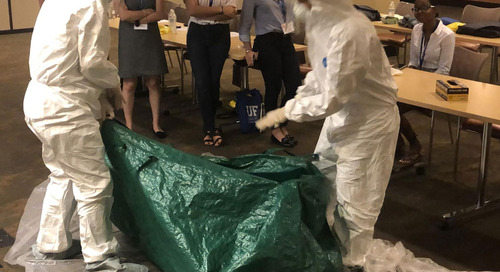 A Zombie Autopsy, STEM Lessons & an FBI Forensics Examiner Walk Into the RAF