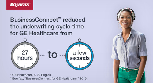 BusinessConnect Reduced GE Healthcare's Underwriting Cycle Time