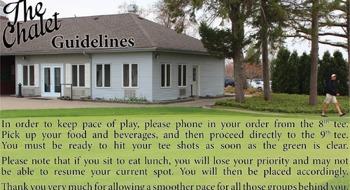 Chalet Guidelines