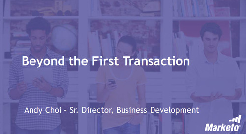Beyond the First Transaction