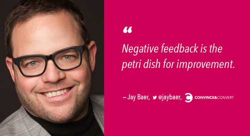 Jay Baer On Why You Should Embrace Complaints & Hug Your Haters [Podcast]