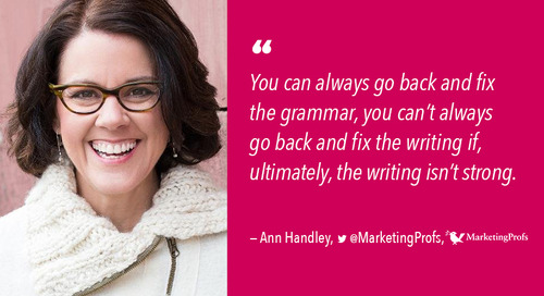 How Better Writing Can Build A Brand: We Have the Ann-swers (From Ann Handley) [Podcast]