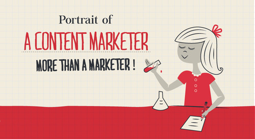 Portrait of a Content Marketer: More Than a Marketer [Infographic]