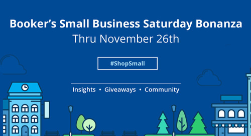 Announcing Booker's Small Business Saturday Bonanza!