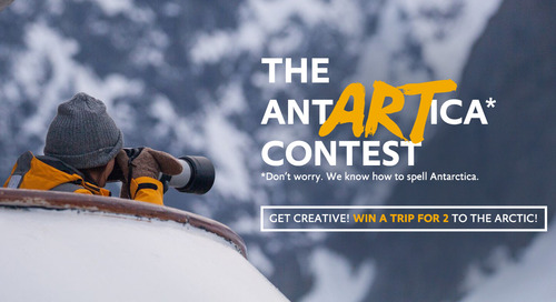 Enter the Quark AntARTica Contest And Win a Trip For 2 To The Arctic