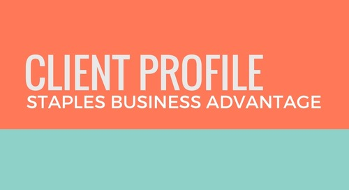 Staples Business Advantage: Know Your Buyer Personas