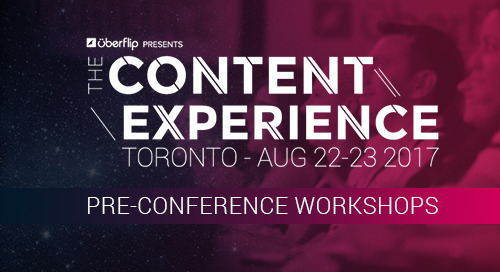 What to Expect at This Year's Pre-Conference Workshops