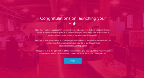Tell us about the Hub you launched!