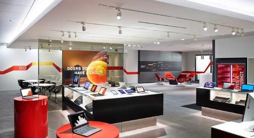 Designing fresh new look for Lenovo